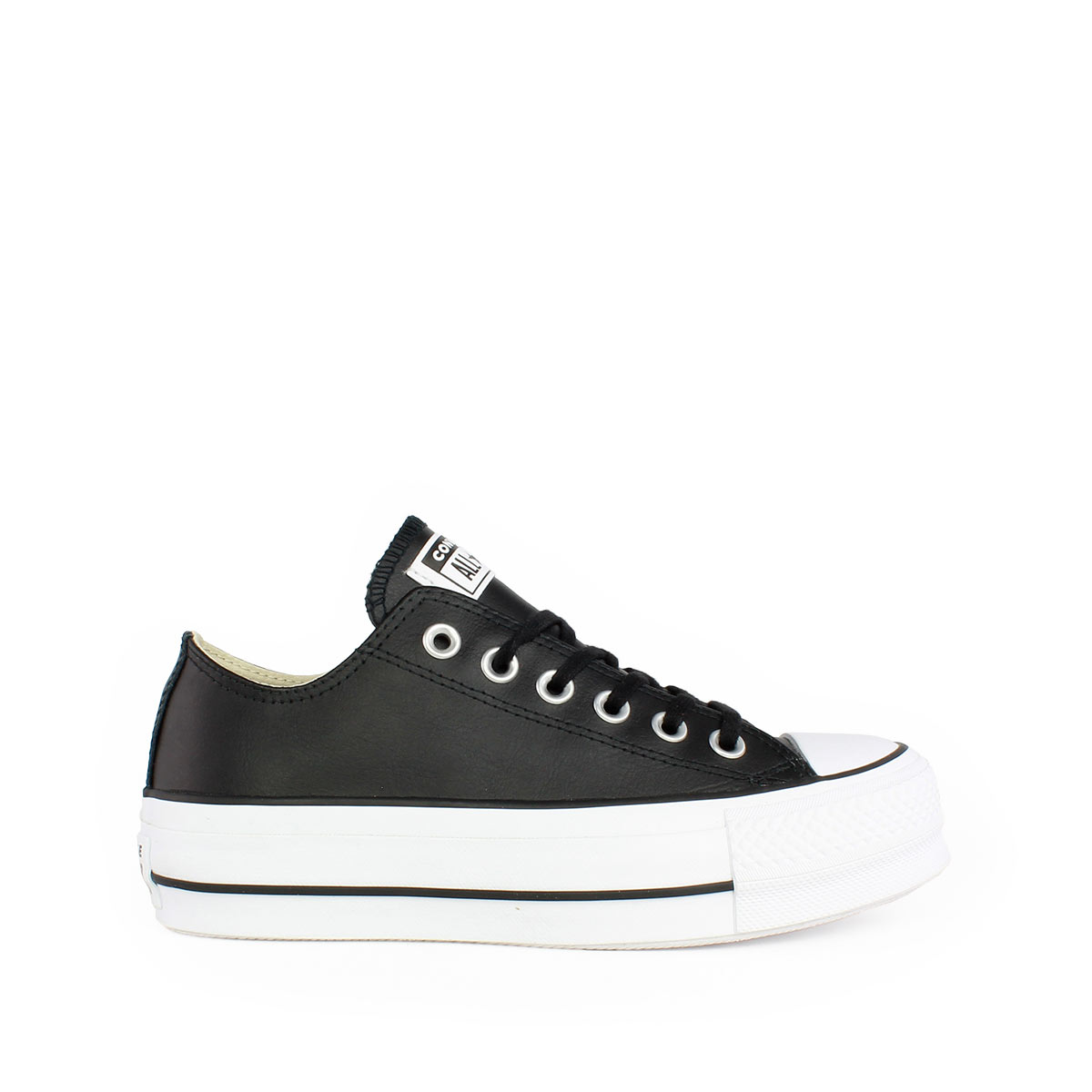 58c5b6d8d92 Converse Chuck Taylor All Star Lift Clean Leather Low Top 561681C ...